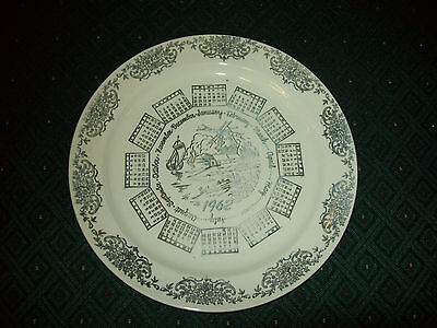 1962 COLLECTOR PLATE