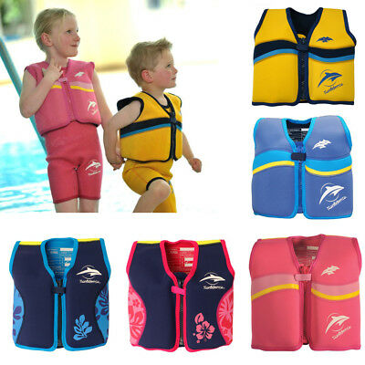 Swimming Float Jacket Swim Aid Wear Konfidence Neopren Suit Baby Toddler Child