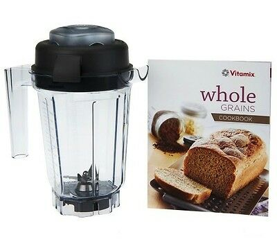Vitamix 32oz Dry Blade Blending Container with Recipe Book - Orig $145 Brand New