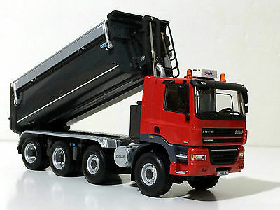 "WSI GINAF  TIPPER  4AXLE ""RED"""