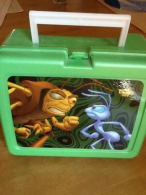 WALT DISNEY A BUG'S LIFE LUNCHBOX w/ THERMOS NEW WITH PAPERS RETRO Made In USA