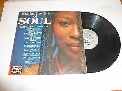 GOLDEN LADIES OF SOUL - 1980 UK 15-track Vinyl LP
