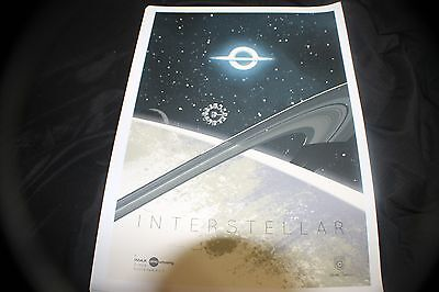 Interstellar AMC IMAX Limited Edition  Full Color 11x17 Movie Poster