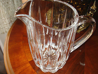ROYAL GALLERY CRYSTAL PITCHER