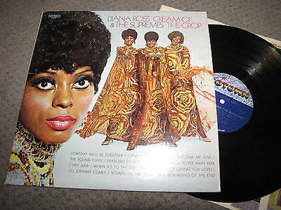 DIANA ROSS AND THE SUPREMES - CREAM OF THE CROP - MOTOWN RECORDS LP