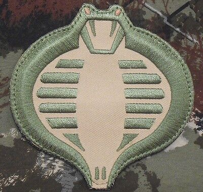 COBRA GI JOE USA ARMY TACTICAL US MILITARY MORALE BADGE MULTICAM VELCRO PATCH
