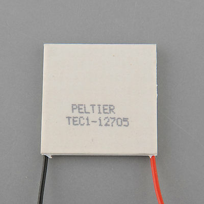 40mm TEC1-12705 coolling Thermo Electric Generator Peltier Cooler 1pcs