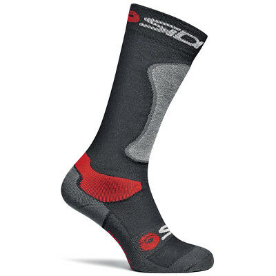 Sidi Motorcycle Motorbike Socks Road Black Single Pair - Black