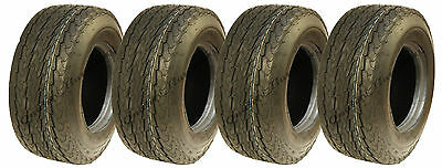 4 - 16.5x6.50-8 trailer tyres 6ply high speed road legal buggy cart mower golf