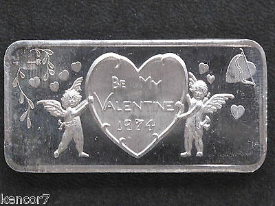 1974 Valentine Silver Art Bar GLM-11 Great Lakes Mint P1085