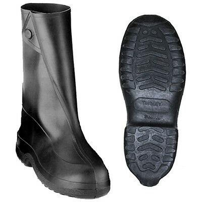 """Tingley 10"""" Rubber Work Boot - Black 1400, Small-3X"""