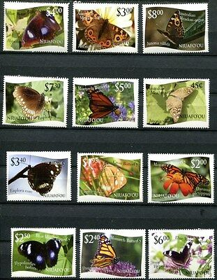 WHOLESALE LOT OF 25 SETS OF TONGA NIUAFO'OU 2012 BUTTERFLIES - $1,355.00