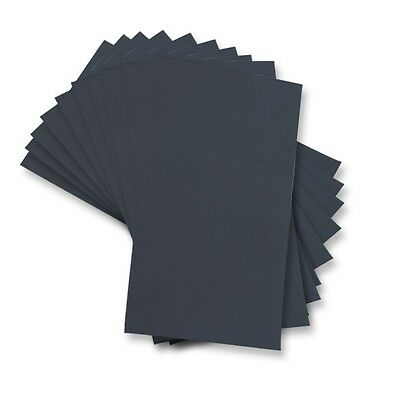 "Sandpaper Wet or Dry 80 pcs.3"" X 5 1/2"" 320/400/600/800/1000/1200/1500/2000 GRIT"