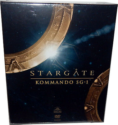 Stargate Kommando SG-1 - Komplettbox [DVD] 62 Discs, Deutsch(e) Version