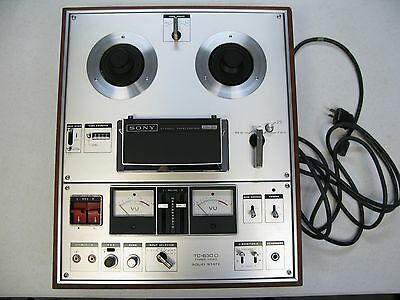 Vintage Sony Reel to Reel Recorder Player TC-630 needs work only rewinds as is