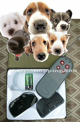 4 in 1,Training Pet Dog Remote Control Vibrate & Electric Shock No Bark Collar
