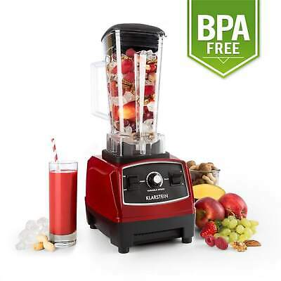 1200W Standmixer 2 Liter Ice 2G Rot Smoothie Maker Universalmixer Cocktail 1,6Ps