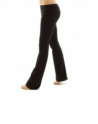 Black cotton roch valley/ tappers and pointers jazz pants - dance pants