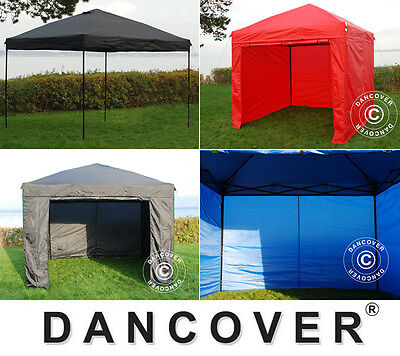 Carpa Plegable 3x3 m 2,5x2,5 m Gazebo Pabellón Fiestas Eventos Carpa Desplegable