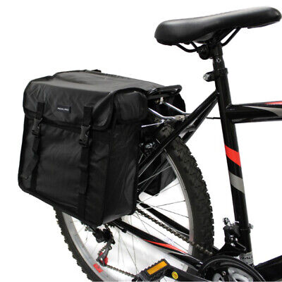 Pedalpro Double Waterproof Bicycle Rear Rack Pannier Top Bag Bike/cycle Commuter