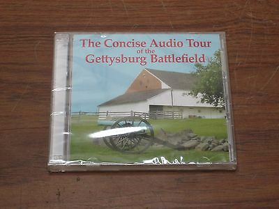 """The Concise Audio Tour of GETTYSBURG BATTLEFIELD"" on 2 CD's, 2006"