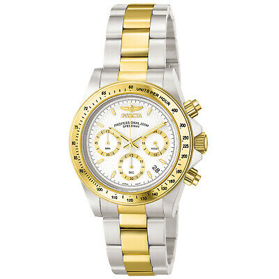 Invicta 9212 Men's Speedway White Dial Chronograph Watch