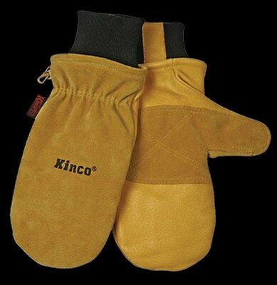 Kinco 901T Cold Weather Pigskin Leather Mitten Thermal Lined Waterproof Ski Mitt