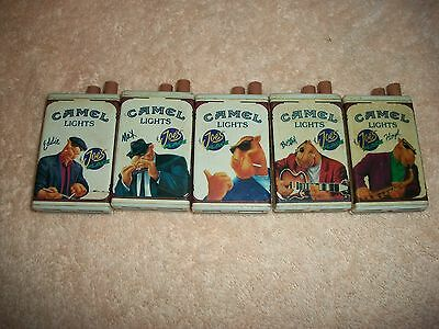 VINTAGE CAMEL CIGARETTE STRIKERS A SET OF FIVE