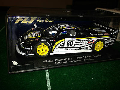 Slot car scalextric Fly 88044 A262 Saleen S7 24H. Le Mans 2001