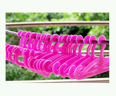 50X Barbie Blythe FR Silkstone Doll Dress Clothes Pink Hangers ACCESSORIES Mixed