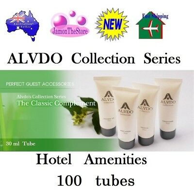 Alvdo Collection Hotel Amenities Shampoo Conditioner Shower Gel Body Lotion 80