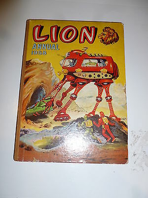 LION Annual - Year 1958 - UK Annual - With Price Ticket Intact