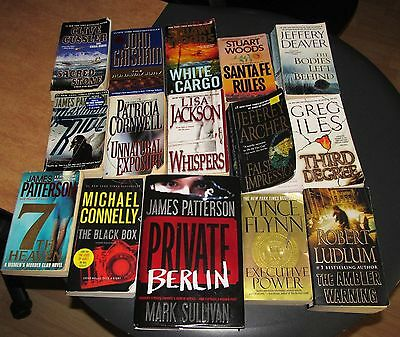BARGAIN Lot #1 of Mystery & Thriller Paperbacks NEWER Selection Private Berlin