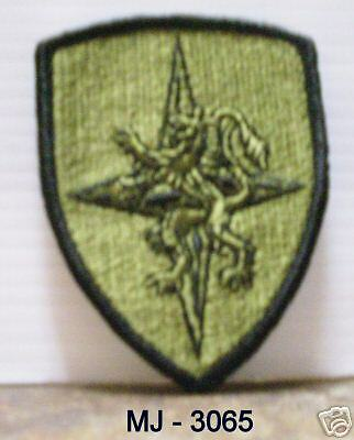 Allied Land Forces - Central Europe Embroidered Patch