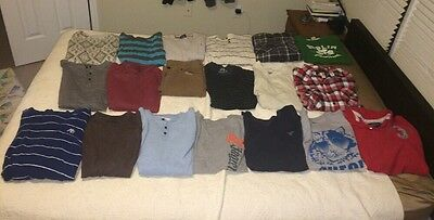 Teen Male Clothing Lot 20 Items