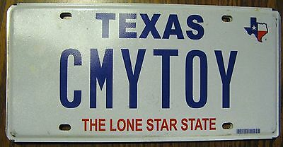 Texas Tx Vanity License Plate See My Toy Sports Car Luxury Nice Tag