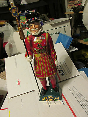 the Beefeater yeoman decanter  complete with spear