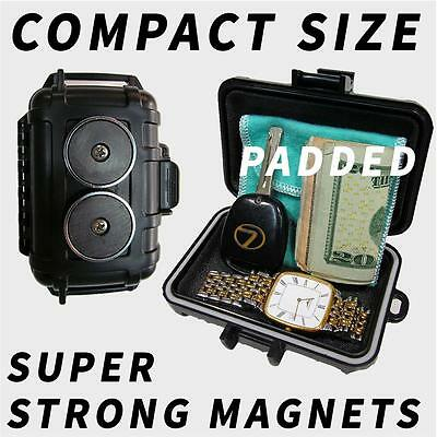 Magnetic Stash Box Hidden Safe Home Can Secret Case Diversion Hide Security Car