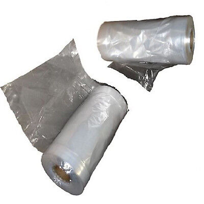 "Garment Covers Polythene Bags Display Packing Clothes/Laundry 24"" Wide All Sizes"