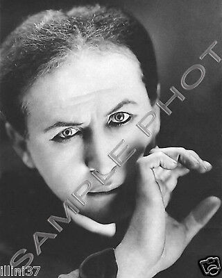 HARRY HOUDINI MAGICIAN PORTRAIT 8X10 PHOTO 1940s