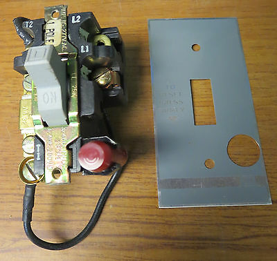 Square D 2510 FO-1P Manual Starter Open Type