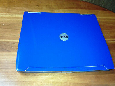 Blue Dell Latitude D610 P4 M 1.86ghz 1gb 40gb Win XP Wifi DVD Laptop Notebook