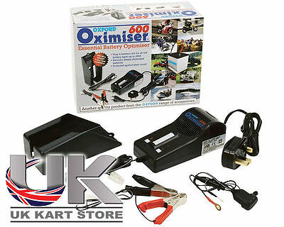 Rotax Max Genuine Oxford OF950 Oximiser 600 Battery Charger UK KART STORE