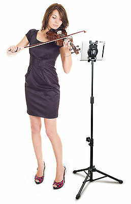 Tripod Music Stand For iPad/Android/Kindle/Asus/ Tablet PC with 360 Rotatable UK