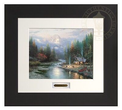 Thomas Kinkade End Of A Perfect Day II Home Collection Espresso Frame $30 Off