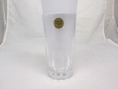 CRISTAL D'ARQUES MADE IN FRANCE GLASS GENUINE LEAD CRYSTAL GLASS FREE SHIPPING