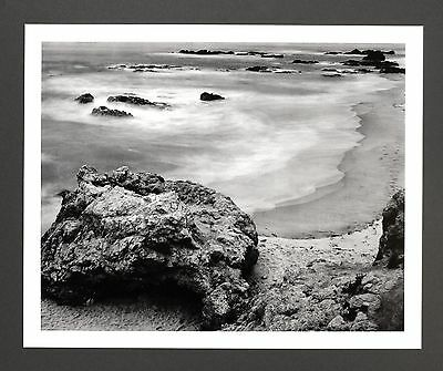 Robert Werling Photo Kunstdruck Art Print 43x35cm Landscape Coast Küste B&W SW