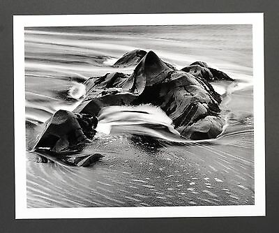 Robert Werling Photo Kunstdruck Art Print 43x35cm Coast Rock Water Sea B&W Meer