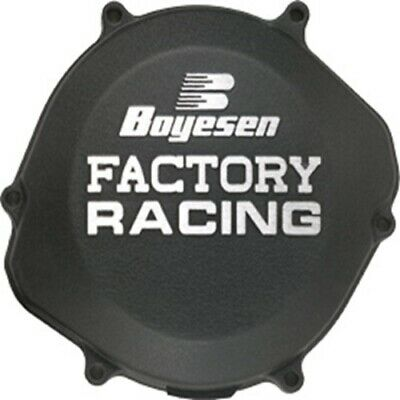 Boyesen Clutch Right Side Case Cover Kawasaki KX125 KX 125 94-02 CC-11B Black
