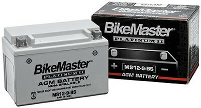 BikeMaster AGM Platinum II Battery MS51913 78-0754